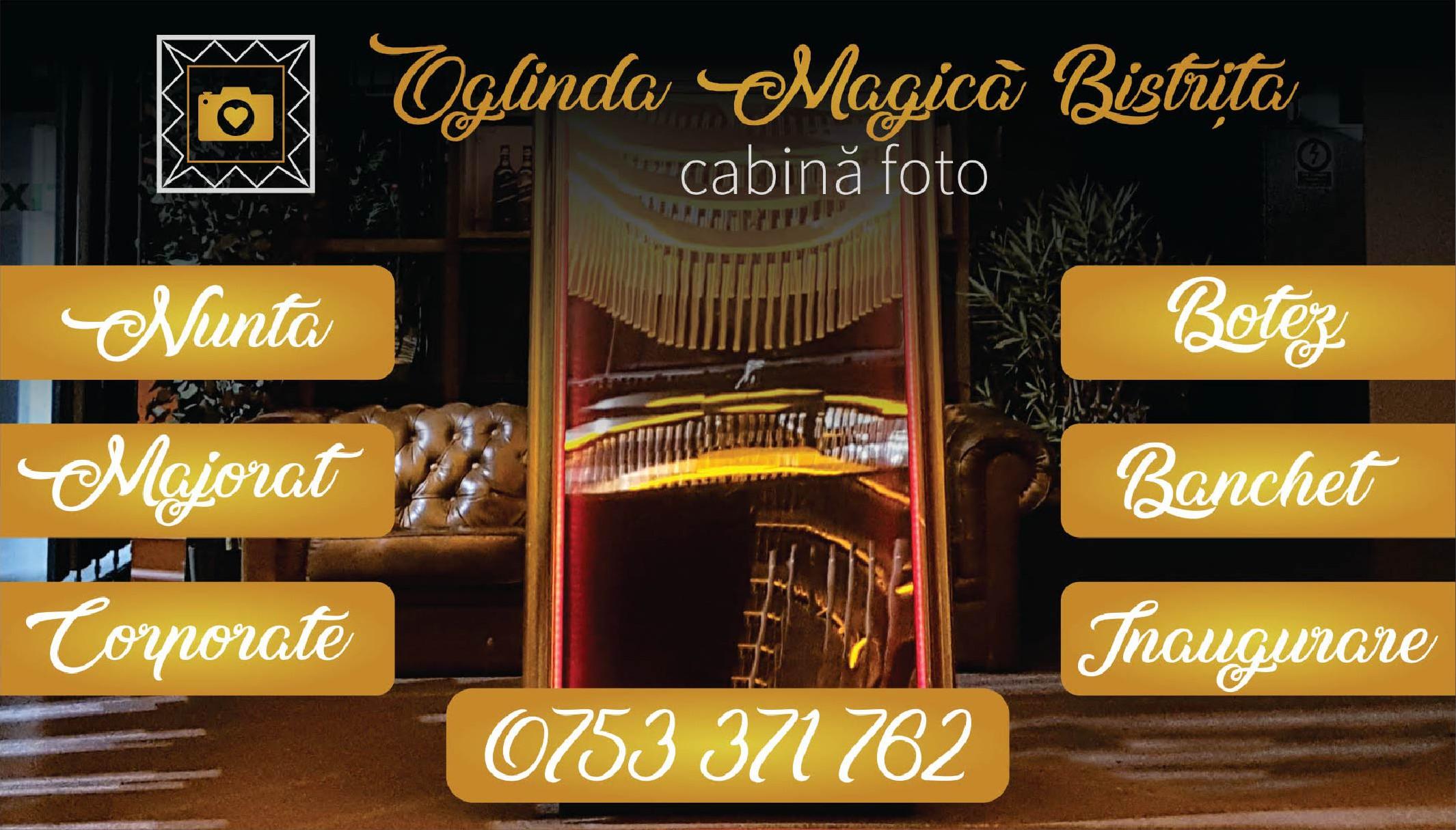 Oglinda Magică Bistrița – Cabină Foto