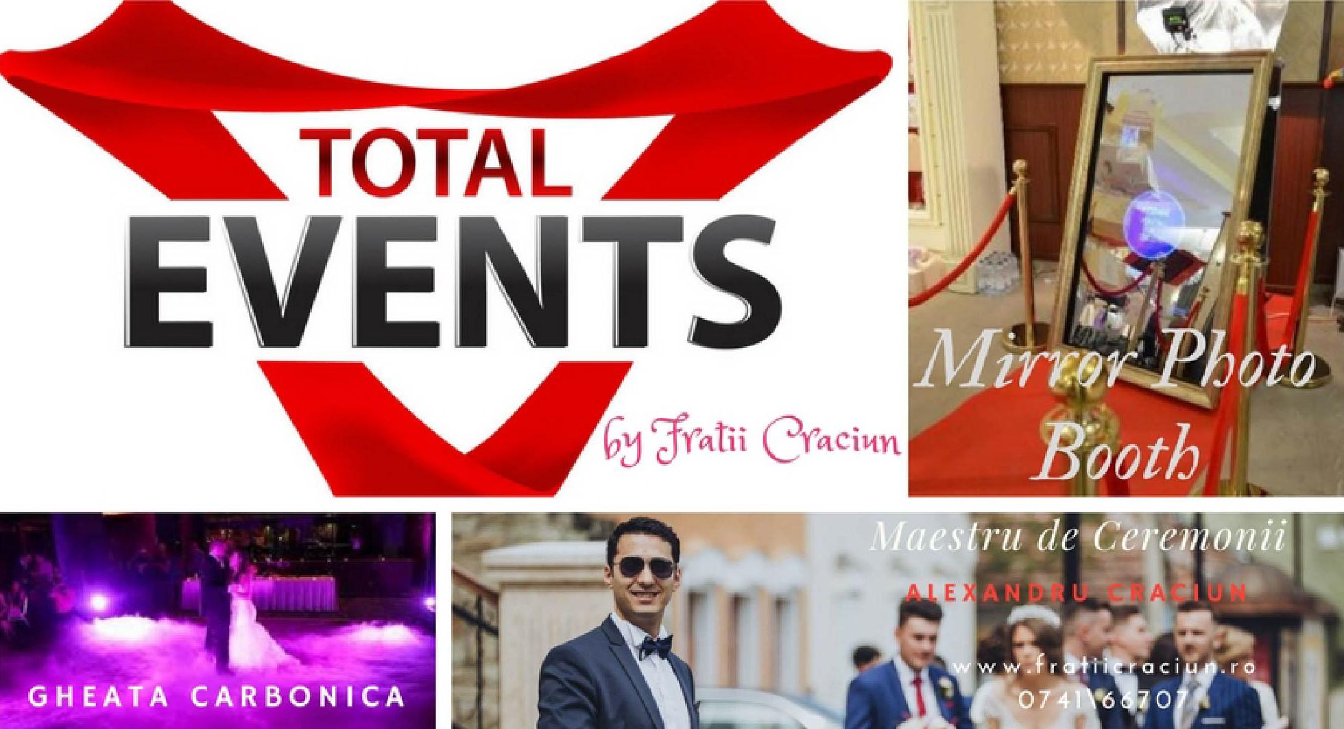 Total Events by Frații Crăciun